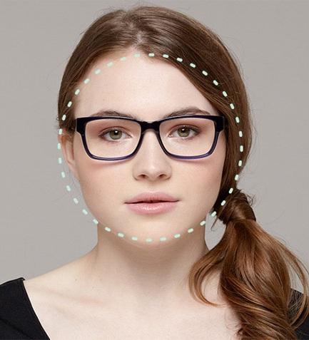 Kết quả hình ảnh cho mặt tròn đeo kính gì